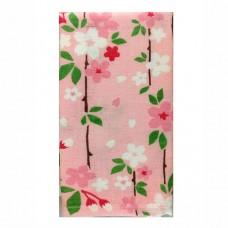 日本 雙層(紗布+毛巾)澡巾-吉野櫻