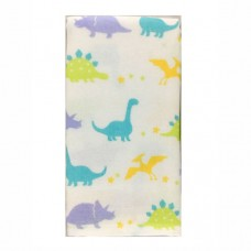 日本 雙層(紗布+毛巾)澡巾-恐龍