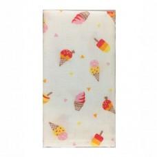 日本 雙層(紗布+毛巾)澡巾-冰淇淋