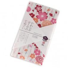 日本 雙層(紗布+毛巾)澡巾-盛開