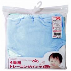 阿卡將 寶寶學習褲(3枚)-80cm