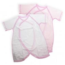 日本 純棉兩用蝴蝶裝2件-粉色