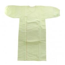 日本 純淨無螢光棉布長肚衣
