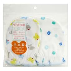 日本 嬰兒護手套-2雙