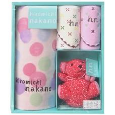 hiromichi nakano 中野裕通 純棉毛巾禮盒 彌月禮盒