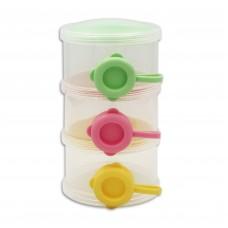 元氣寶寶 側開式三層奶粉盒