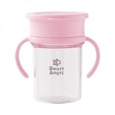 西松屋 360度防漏水杯-粉色