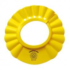西松屋 可調式兒童洗髮帽-黃